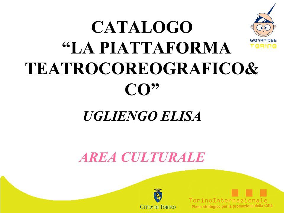 CATALOGO LA PIATTAFORMA TEATROCOREOGRAFICO&CO
