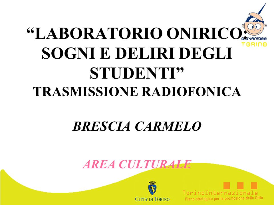 BRESCIA CARMELO AREA CULTURALE
