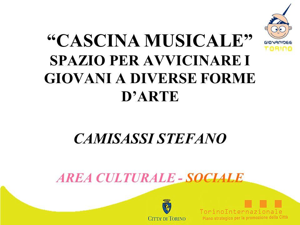 CAMISASSI STEFANO AREA CULTURALE - SOCIALE