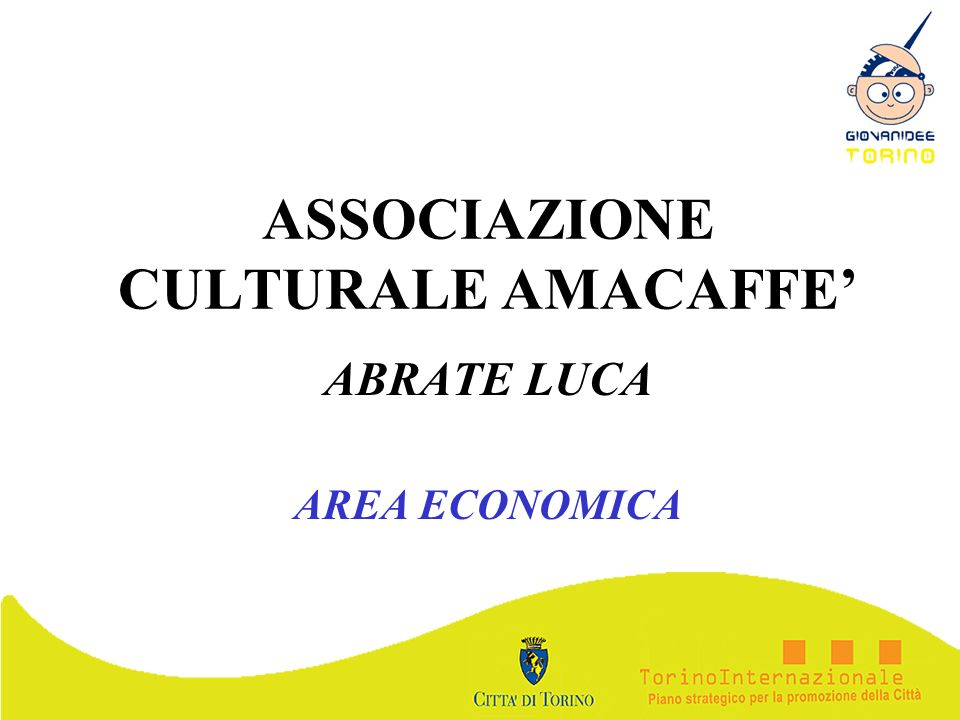ASSOCIAZIONE CULTURALE AMACAFFE'