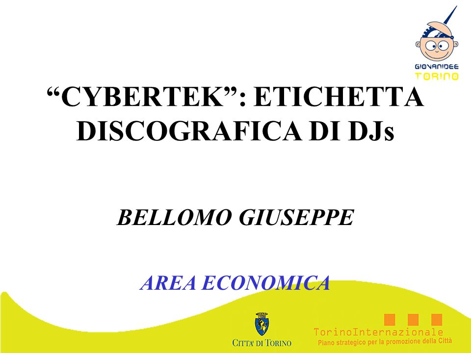CYBERTEK : ETICHETTA DISCOGRAFICA DI DJs