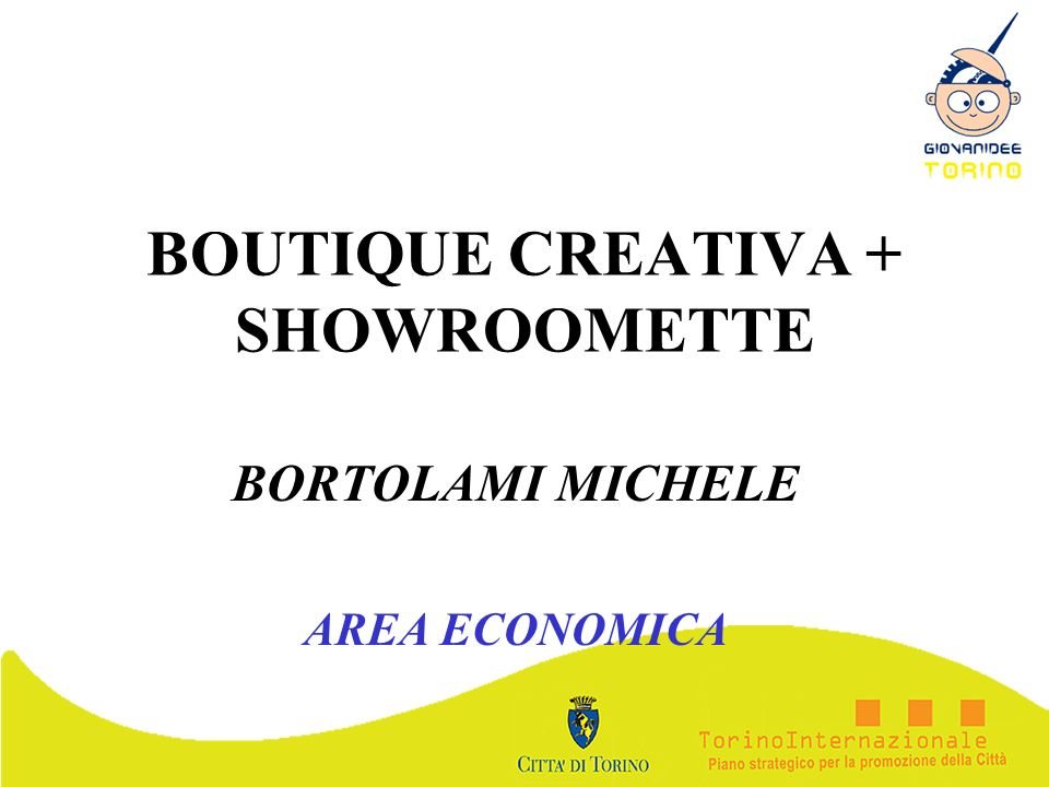 BOUTIQUE CREATIVA + SHOWROOMETTE