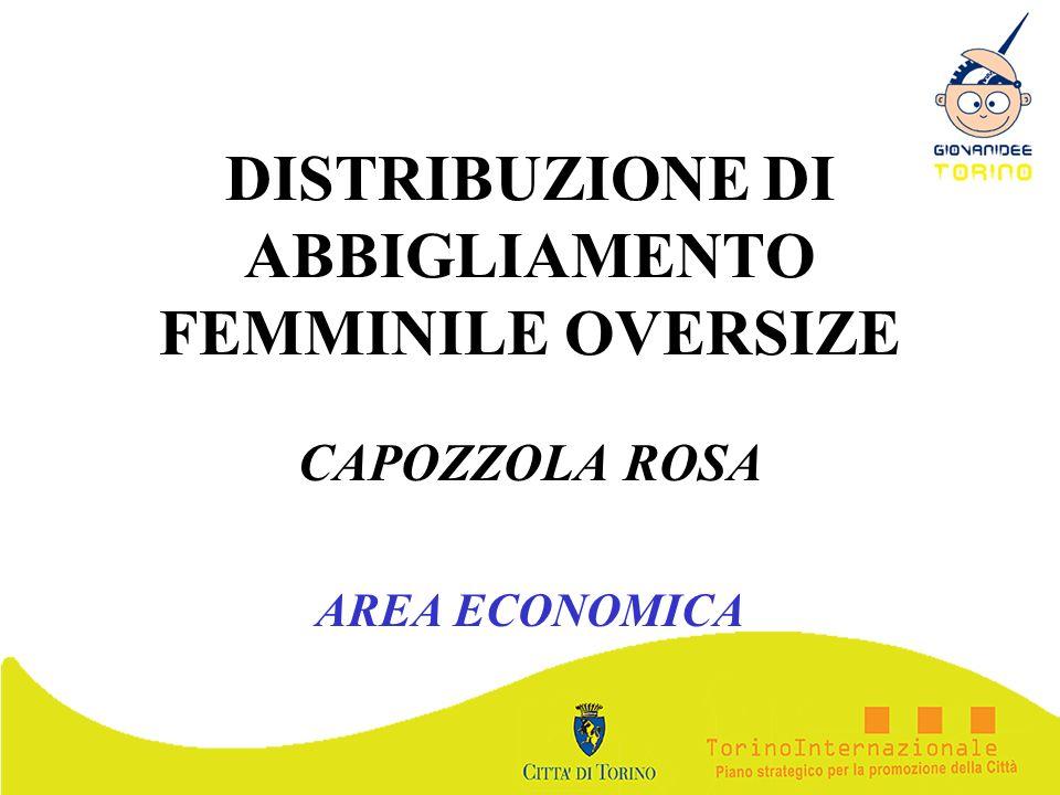 DISTRIBUZIONE DI ABBIGLIAMENTO FEMMINILE OVERSIZE