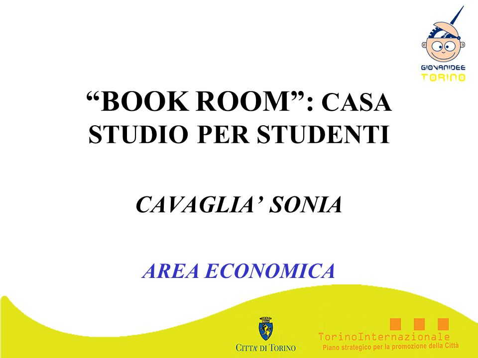 BOOK ROOM : CASA STUDIO PER STUDENTI