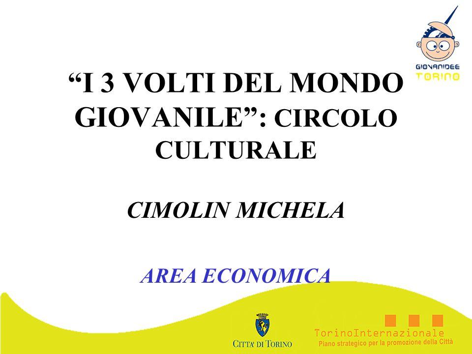 I 3 VOLTI DEL MONDO GIOVANILE : CIRCOLO CULTURALE