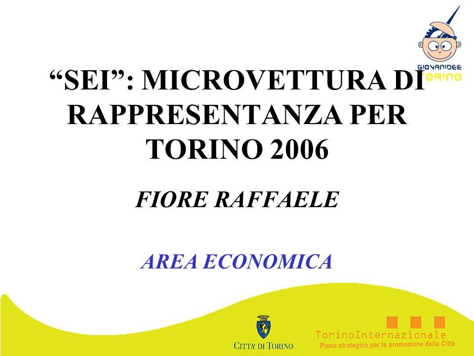 SEI : MICROVETTURA DI RAPPRESENTANZA PER TORINO 2006