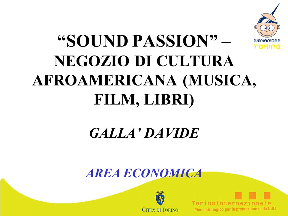 GALLA' DAVIDE AREA ECONOMICA