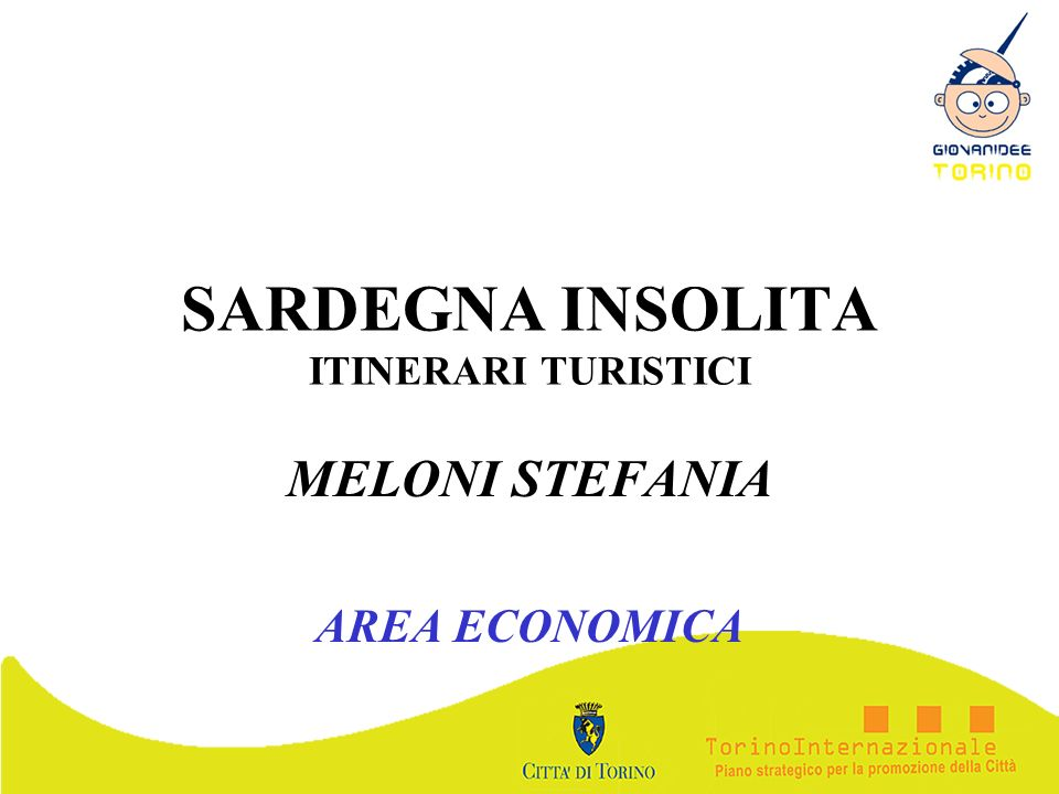SARDEGNA INSOLITA ITINERARI TURISTICI
