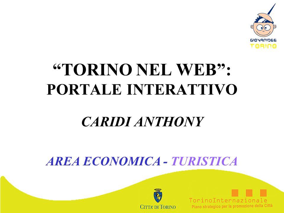 TORINO NEL WEB : PORTALE INTERATTIVO
