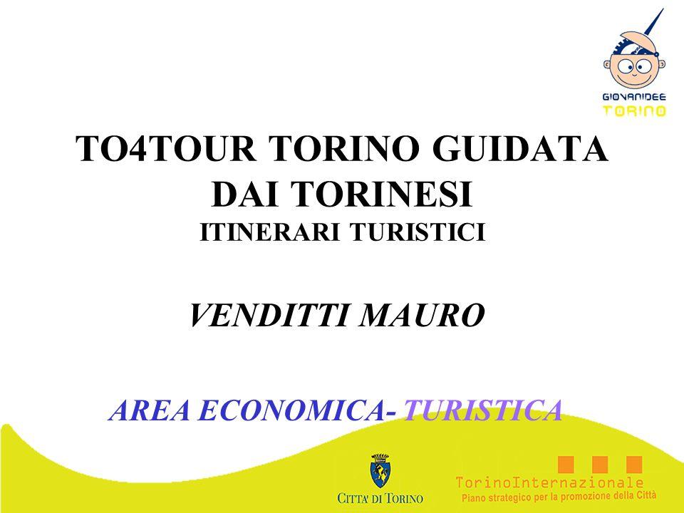 TO4TOUR TORINO GUIDATA DAI TORINESI ITINERARI TURISTICI