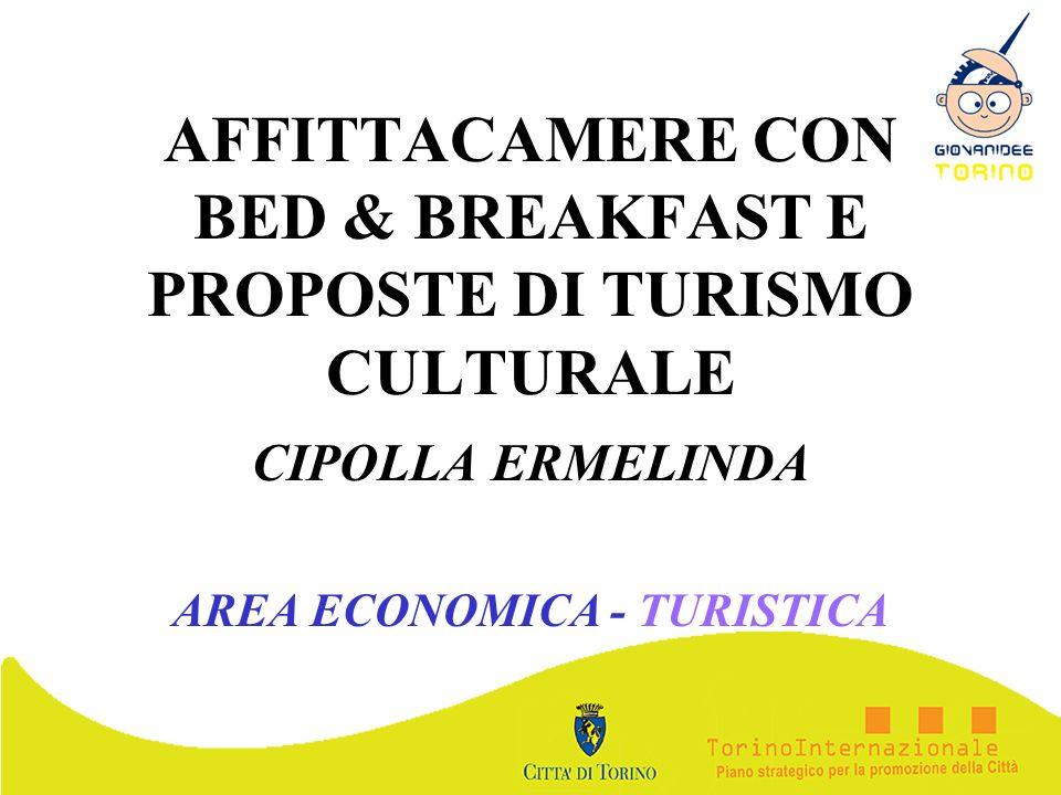 AFFITTACAMERE CON BED & BREAKFAST E PROPOSTE DI TURISMO CULTURALE
