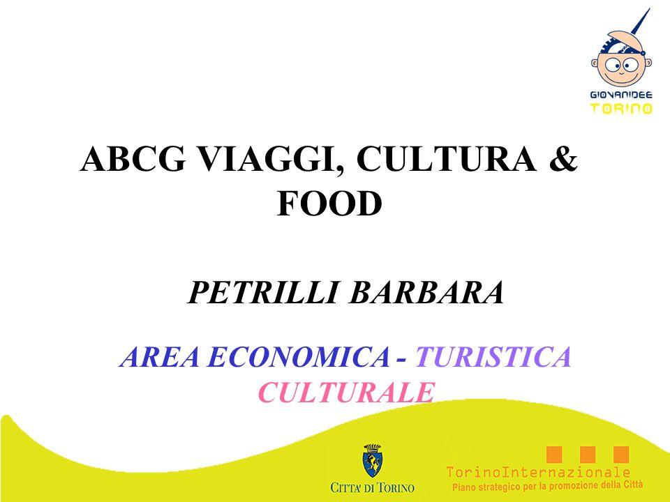 ABCG VIAGGI, CULTURA & FOOD