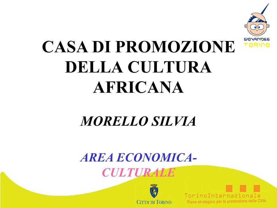 CASA DI PROMOZIONE DELLA CULTURA AFRICANA