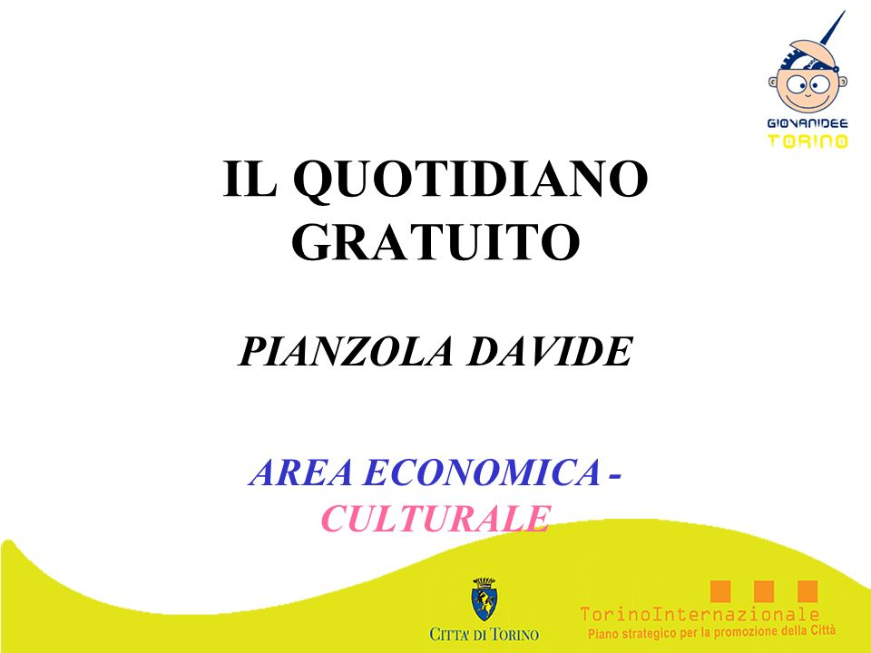 IL QUOTIDIANO GRATUITO