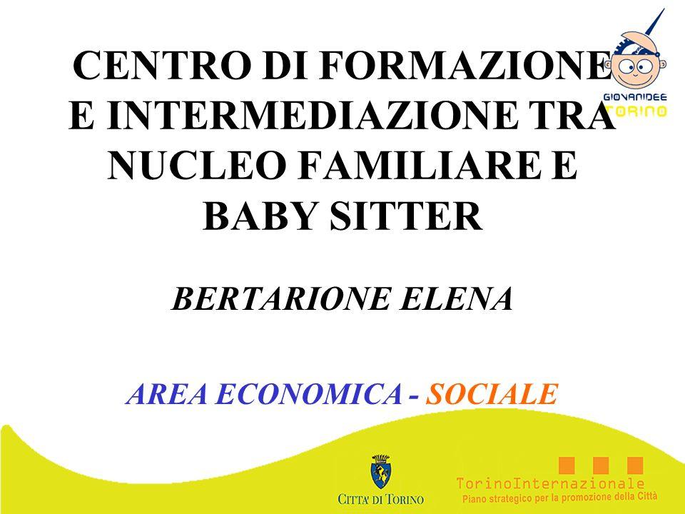 BERTARIONE ELENA AREA ECONOMICA - SOCIALE