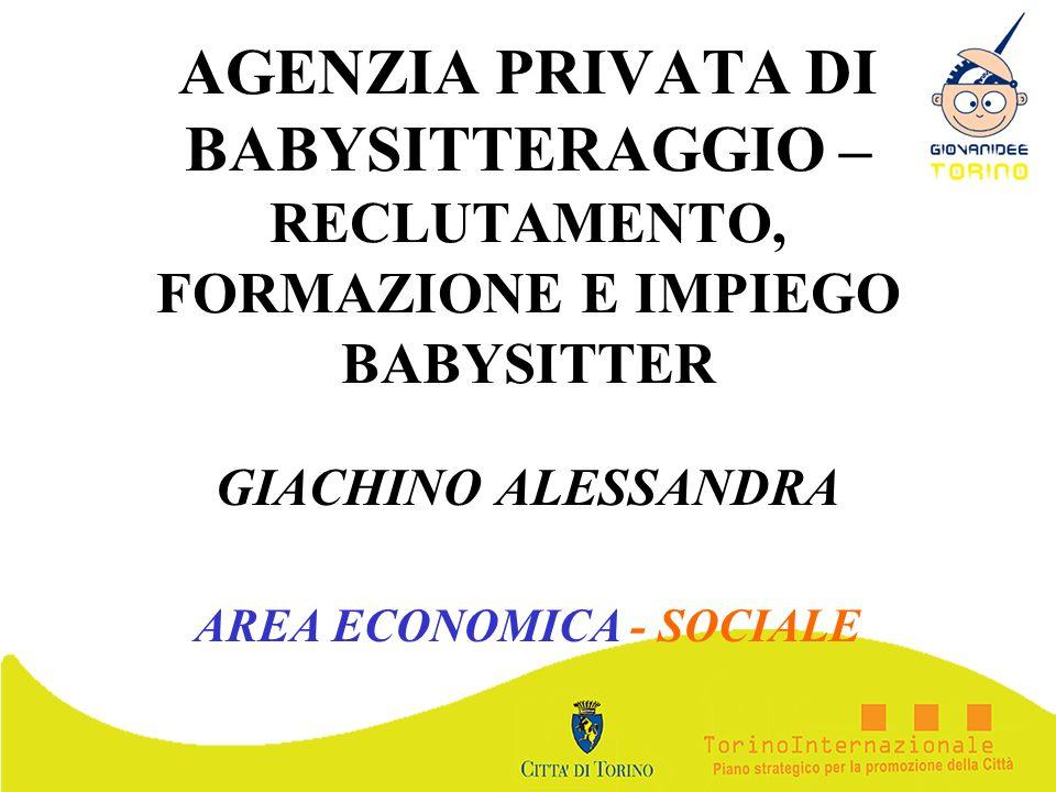 GIACHINO ALESSANDRA AREA ECONOMICA - SOCIALE