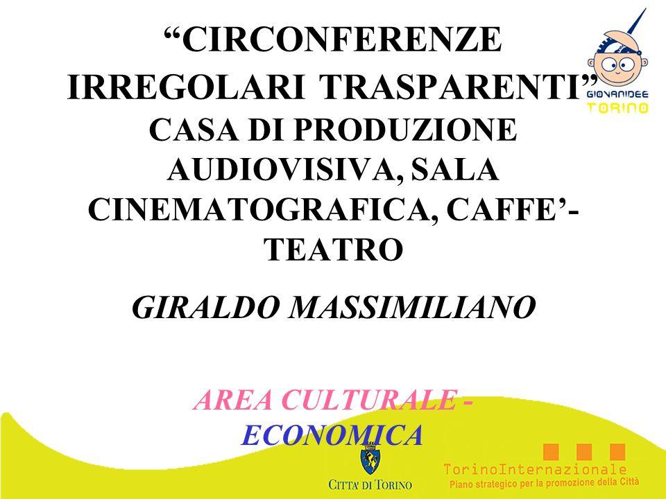 GIRALDO MASSIMILIANO AREA CULTURALE - ECONOMICA