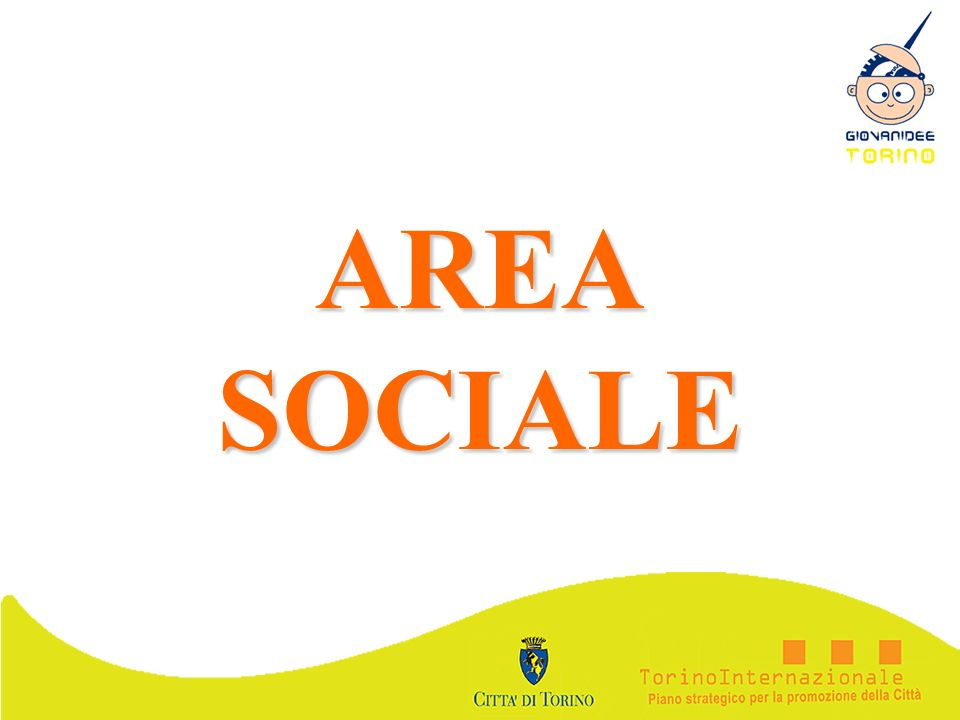 AREA SOCIALE