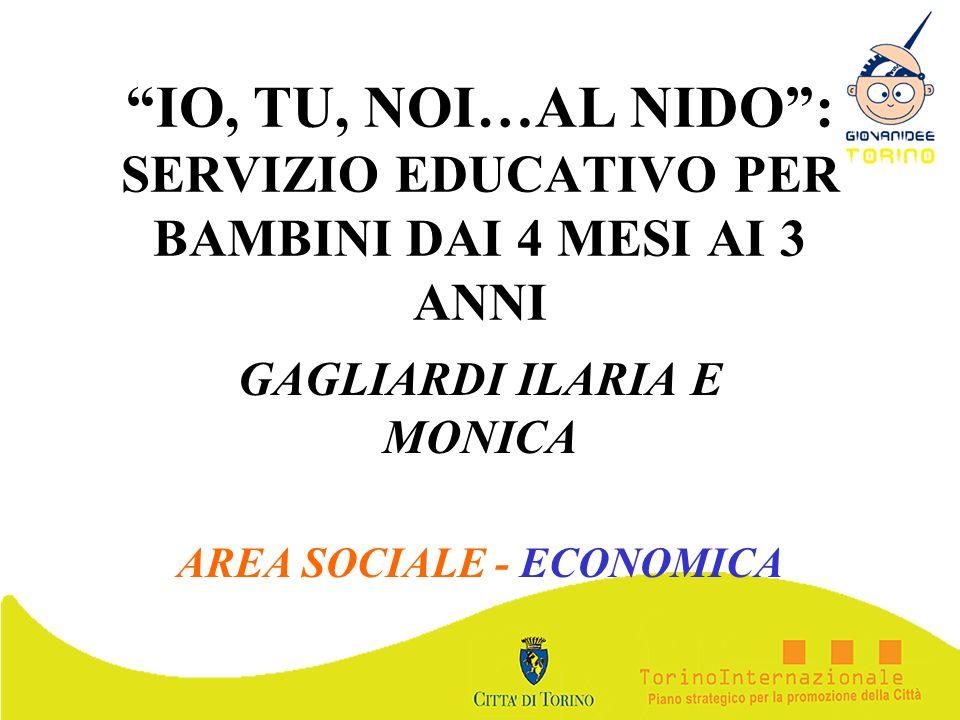 GAGLIARDI ILARIA E MONICA AREA SOCIALE - ECONOMICA