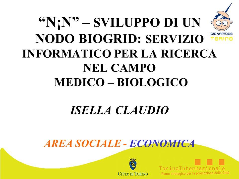 ISELLA CLAUDIO AREA SOCIALE - ECONOMICA