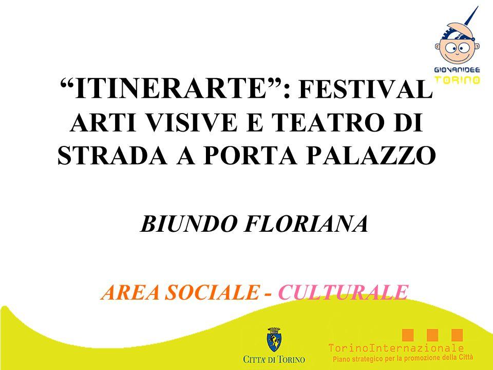 ITINERARTE : FESTIVAL ARTI VISIVE E TEATRO DI STRADA A PORTA PALAZZO