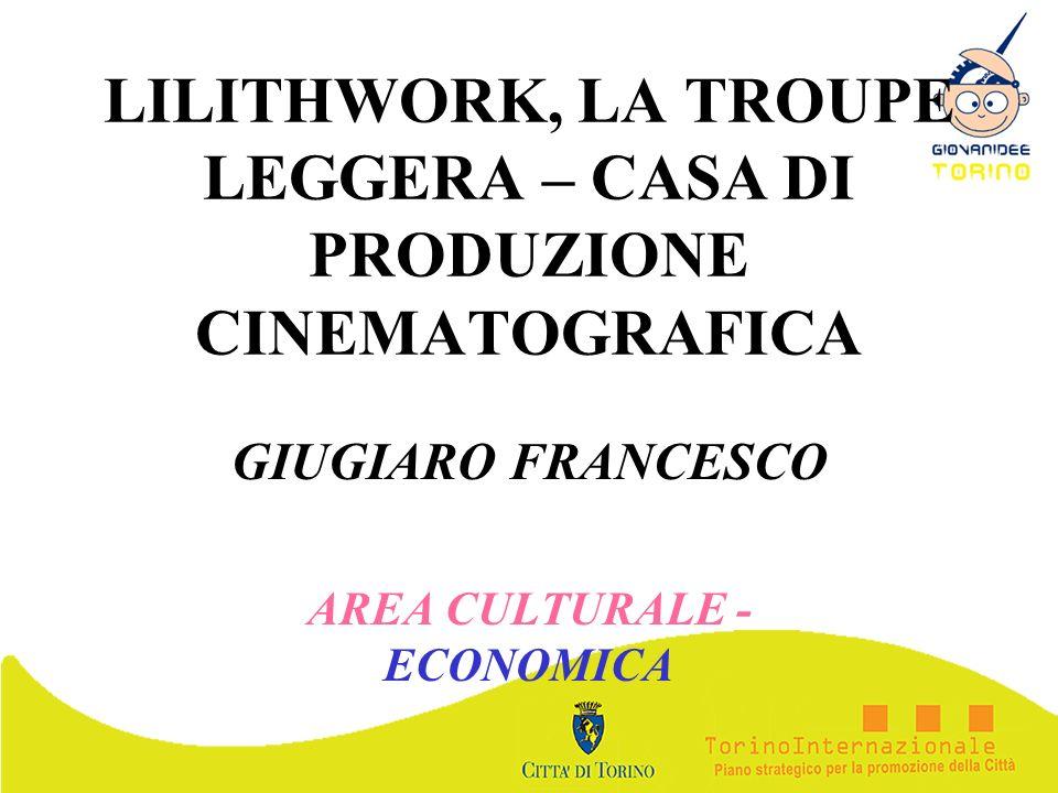 LILITHWORK, LA TROUPE LEGGERA – CASA DI PRODUZIONE CINEMATOGRAFICA