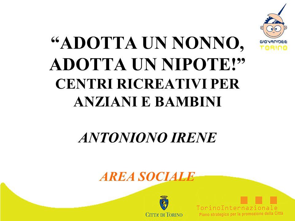 ANTONIONO IRENE AREA SOCIALE