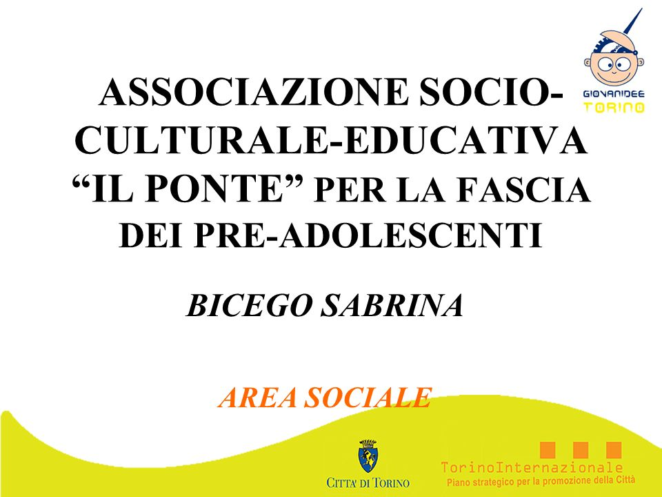 BICEGO SABRINA AREA SOCIALE