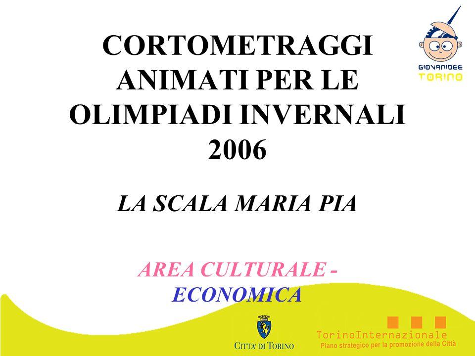 CORTOMETRAGGI ANIMATI PER LE OLIMPIADI INVERNALI 2006