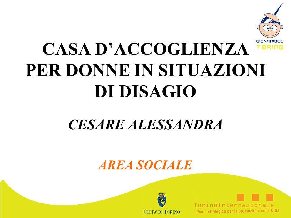 CASA D'ACCOGLIENZA PER DONNE IN SITUAZIONI DI DISAGIO