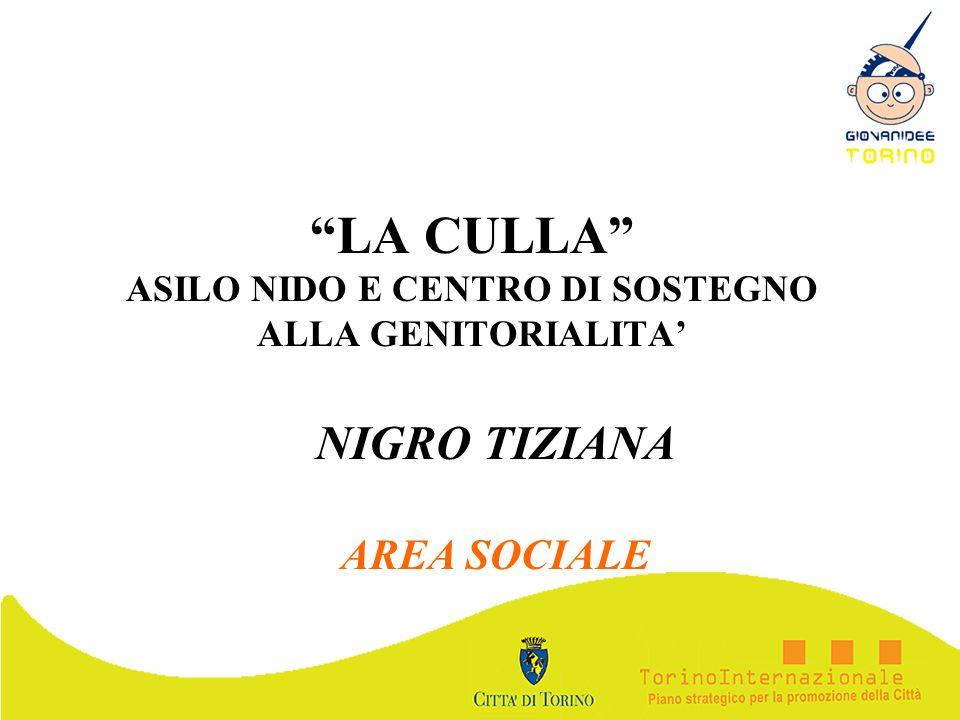 LA CULLA ASILO NIDO E CENTRO DI SOSTEGNO ALLA GENITORIALITA'