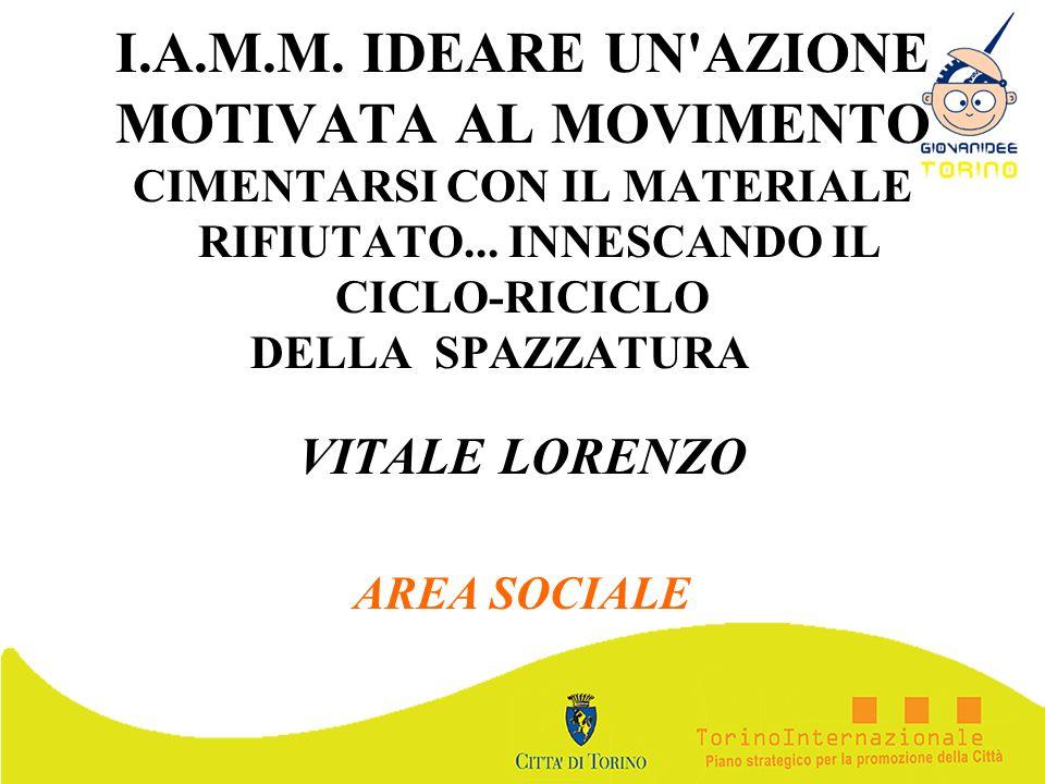 VITALE LORENZO AREA SOCIALE