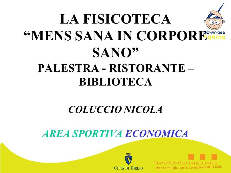 COLUCCIO NICOLA AREA SPORTIVA ECONOMICA