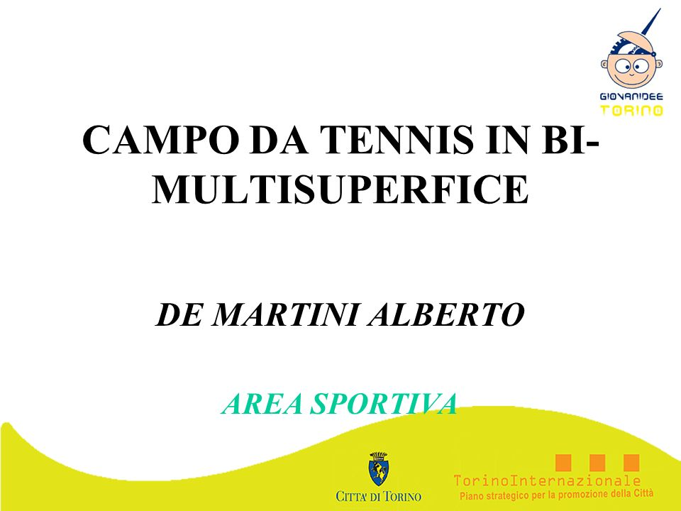 CAMPO DA TENNIS IN BI-MULTISUPERFICE