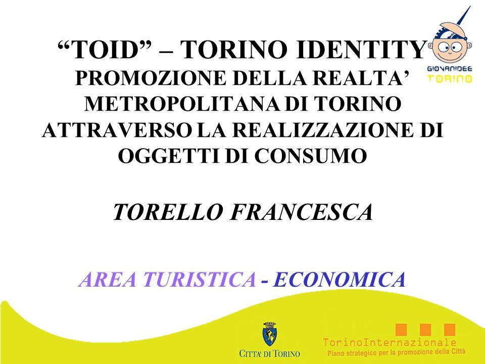 TORELLO FRANCESCA AREA TURISTICA - ECONOMICA