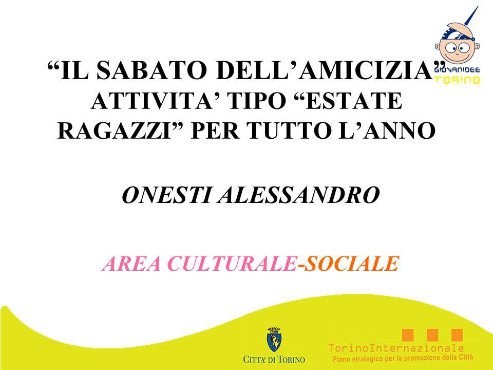 ONESTI ALESSANDRO AREA CULTURALE-SOCIALE