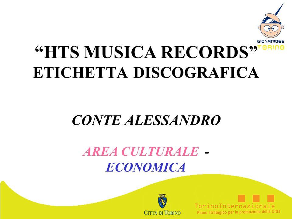 HTS MUSICA RECORDS ETICHETTA DISCOGRAFICA