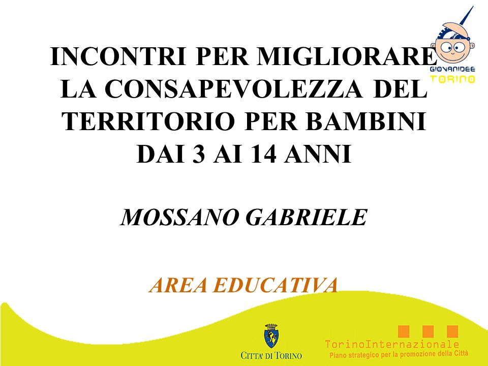 MOSSANO GABRIELE AREA EDUCATIVA