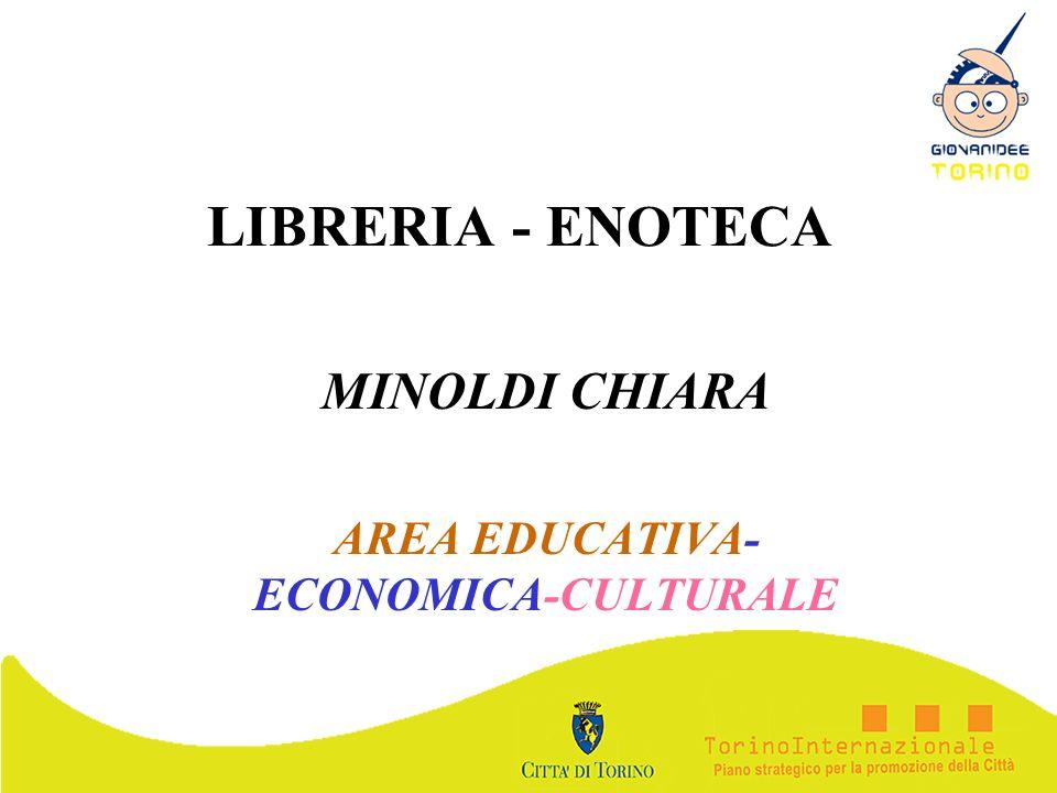 MINOLDI CHIARA AREA EDUCATIVA- ECONOMICA-CULTURALE