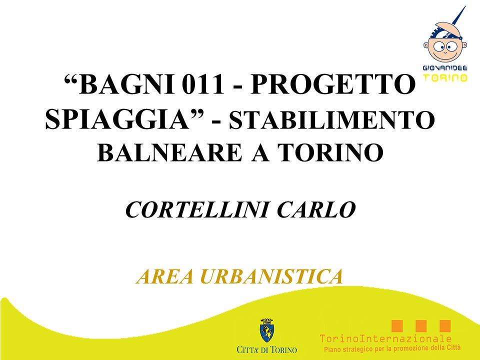 BAGNI 011 - PROGETTO SPIAGGIA - STABILIMENTO BALNEARE A TORINO