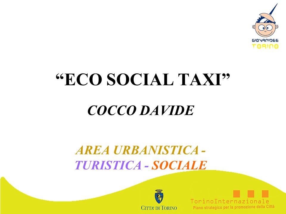 COCCO DAVIDE AREA URBANISTICA - TURISTICA - SOCIALE