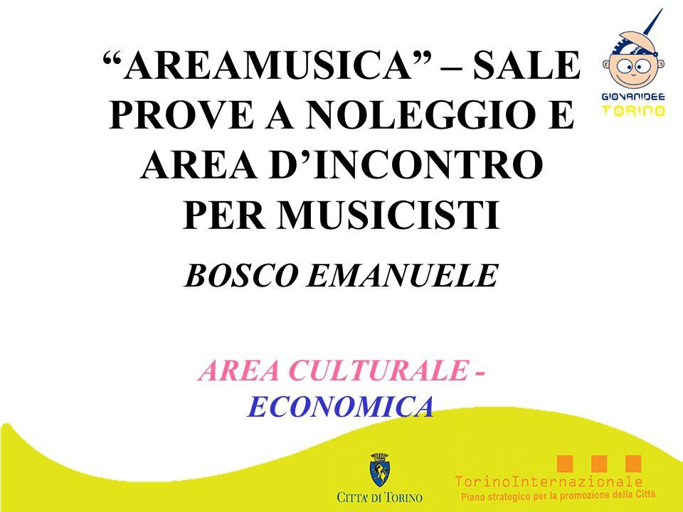 AREAMUSICA – SALE PROVE A NOLEGGIO E AREA D'INCONTRO PER MUSICISTI