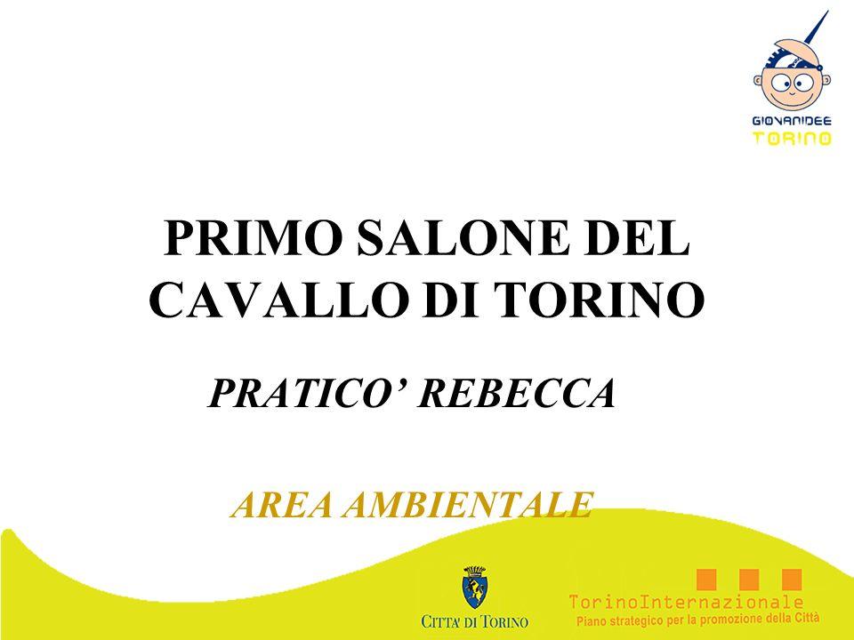 PRIMO SALONE DEL CAVALLO DI TORINO