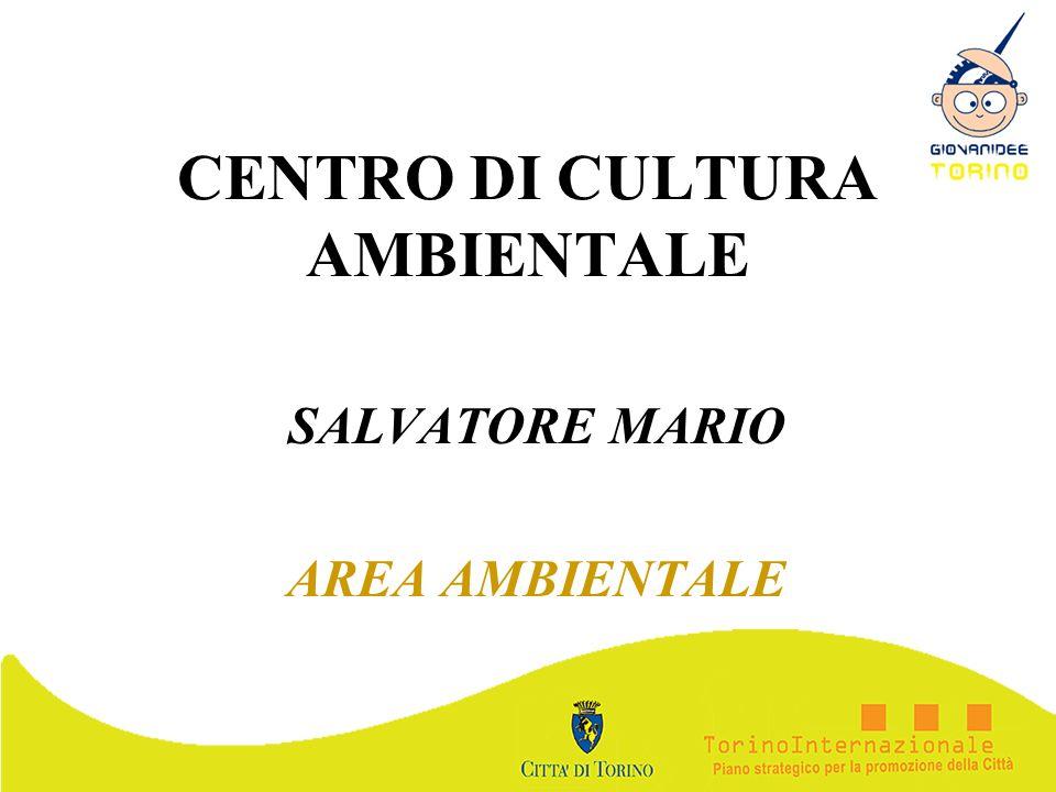 CENTRO DI CULTURA AMBIENTALE