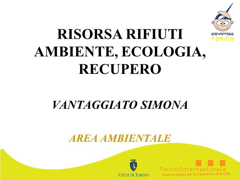 RISORSA RIFIUTI AMBIENTE, ECOLOGIA, RECUPERO