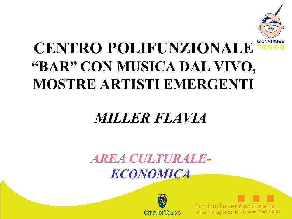 MILLER FLAVIA AREA CULTURALE-ECONOMICA