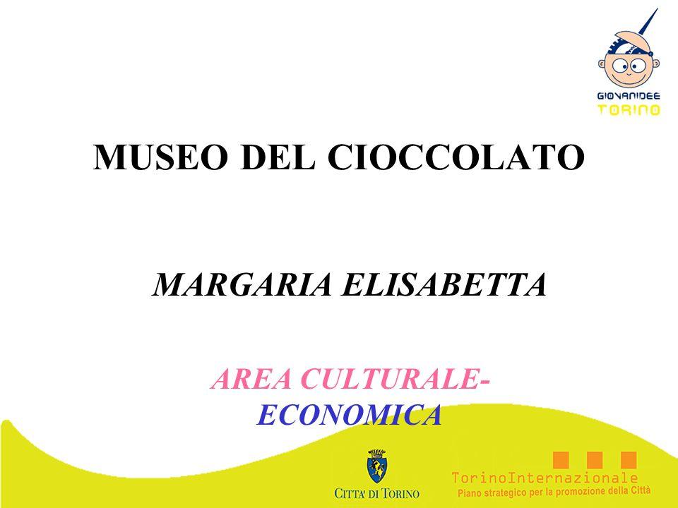 MARGARIA ELISABETTA AREA CULTURALE-ECONOMICA