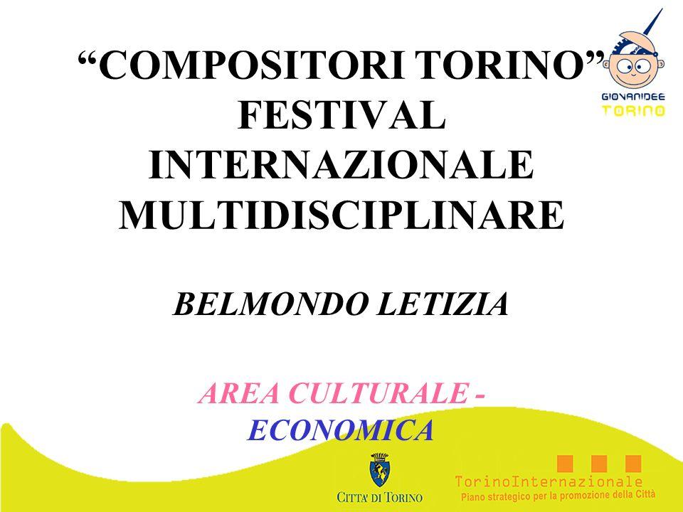 COMPOSITORI TORINO FESTIVAL INTERNAZIONALE MULTIDISCIPLINARE