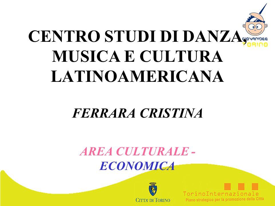 CENTRO STUDI DI DANZA, MUSICA E CULTURA LATINOAMERICANA