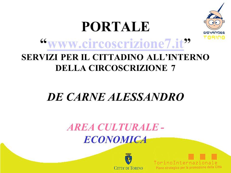 DE CARNE ALESSANDRO AREA CULTURALE - ECONOMICA